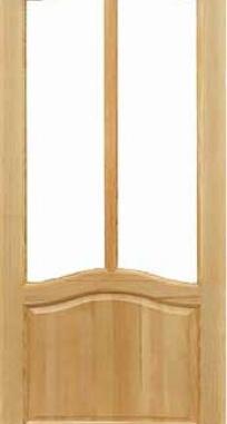 Межкомнатные двери Дельта под стекло