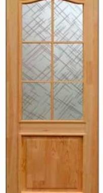 Межкомнатные двери Классик под стекло