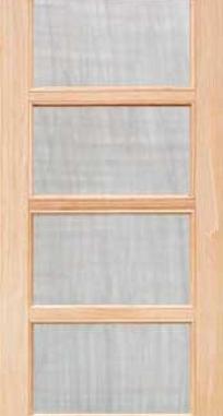 Межкомнатные двери Тетра под стекло