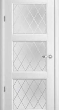 Межкомнатные двери ALBERO Галерея Эрмитаж-3 стекло
