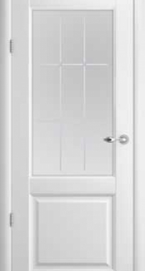 Межкомнатные двери ALBERO Галерея Эрмитаж-4 стекло Галерея