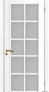 Межкомнатная дверь Тессоро К-3 ПО Белая эмаль