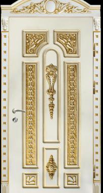 Входная дверь Элит П 6 патина
