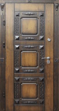 Входная дверь Элит П 9 патина
