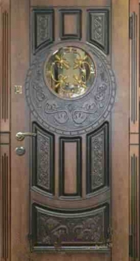 Дверь входная  Круг 100 Каскад