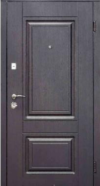 Входная дверь Steelguard DO-30 Венге темный, ALTA