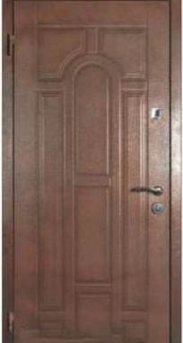 Входная дверь Steelguard DR-27 (Темный орех)