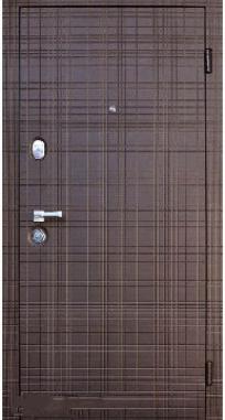 Входная дверь Steelguard Scotch (Венге горизонт, 117)