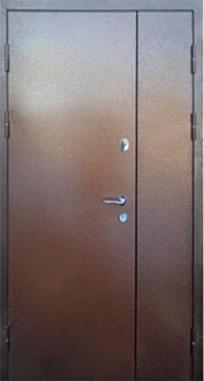 Входная дверь FORT Металл/МДФ Классик полуторная