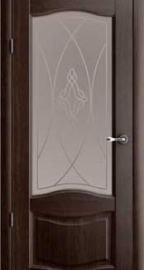 Межкомнатные двери ALBERO Галерея Лувр стекло Гранд