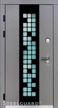 Входная дверь Steelguard Manhattan Grey Light, MAXIMA