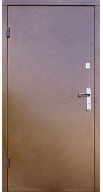 Входная дверь FORT Металл/Металл медь антик