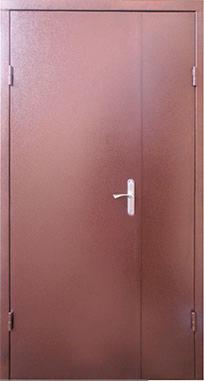 Входная дверь FORT Техническая RAL 8017 1200 мм