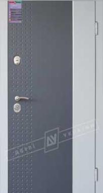 Дверь входная Двери Украины ИНТЕР Леон 2, антрацит KALE