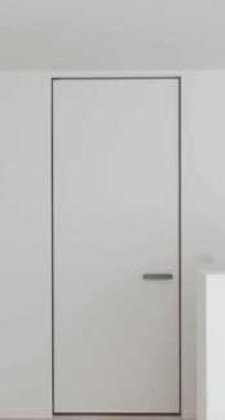 Двери скрытого монтажа окрашенные