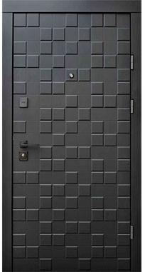 Входные двери Qdoors Ультра Онтарио софт черный