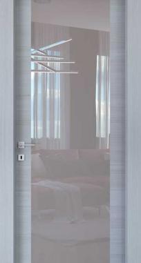Межкомнатные двери Braga, модель VS 35 Palissandro Bianco