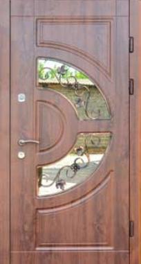 Входная дверь FORT Трио Греция со стеклопакетом