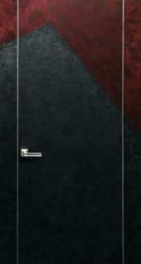 Двери скрытого монтажа грунтованные
