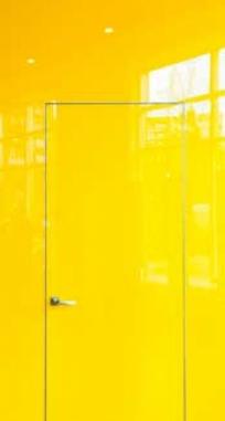 Двери скрытого монтажа стекло окрашенное