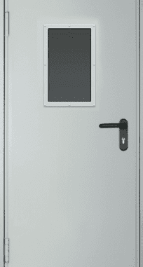 "Противопожарные двери EI 60 серии ""Барьер 1"" 2050х860/960 мм со стеклом 600х400 мм"