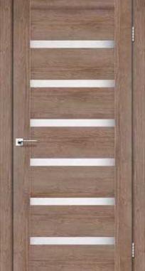 Межкомнатные двери Darumi модель Vela сатин