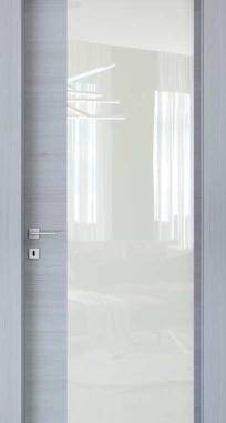 Межкомнатные двери Braga, модель VS 35 C Palissandro Bianco