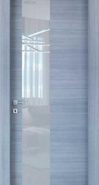 Межкомнатные двери Braga, модель VSLA M Palissandro Grigio