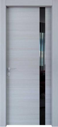 Межкомнатные двери Braga, модель VS 10 C Palissandro Bianco