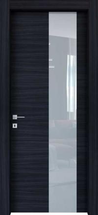 Межкомнатные двери Braga, модель VSLA C Palissandro Blu