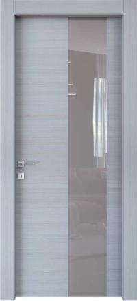 Межкомнатные двери Braga, модель VSLA C Palissandro Bianco