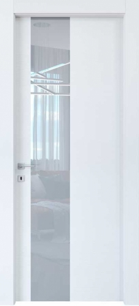 Межкомнатные двери Braga, модель VSLA M Azimut Bianco