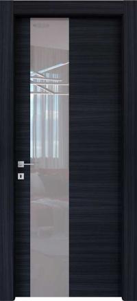 Межкомнатные двери Braga, модель VSLA M Palissandro Blu