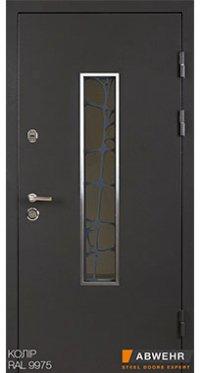 Входные двери Abwehr Solid Glass Defender