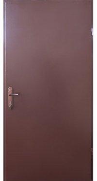 Входная дверь FORT Техническая RAL 8017