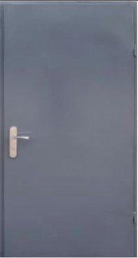 Входная дверь FORT Техническая антрацит