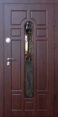 Входная дверь FORT Трио Классик со стеклопакетом