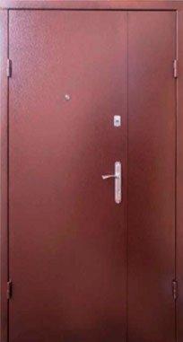 Входные двери Qdoors Металл/МДФ Классик, полуторные