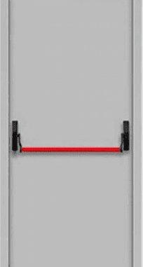 "Противопожарные двери EI 30 Замок антипаника. 2050 х 860/960 мм. Серии ""Рубеж 3"""