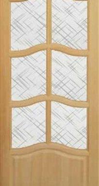 Межкомнатные двери Капри-2 под стекло