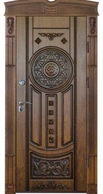 Входная дверь ЭЛИТ П 13 патина