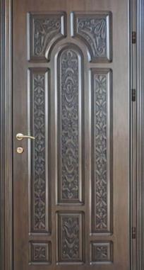 Входная дверь Элит П 4 патина