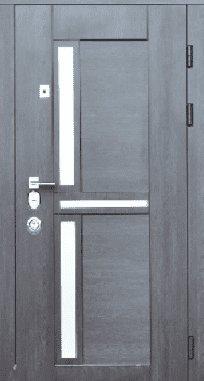 Входная дверь Steelguard Neoline 195