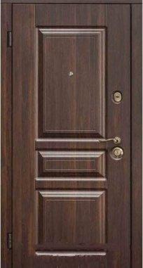 Входная дверь Steelguard TermoScreen Темный орех, MAXIMA
