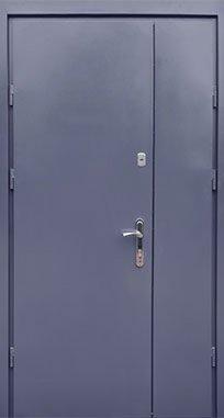 Входная дверь FORT Металл/Металл антрацит 1200 мм