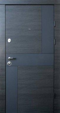 Входные двери Qdoors Премиум Стиль-М 2 цвета
